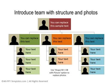 Powerpoint Team Introduction Slide Team Introduction Ppt Template Free