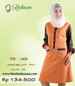 Blus Tunik Rahnem At 1413 Atasan Muslim blus rahnem atasan rahnem kaos collection terbaru