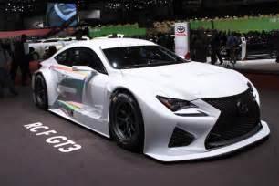 Lexus Gt3 Lexus Rc F Gt3 To Go Racing In 2015 Geneva Motor Show