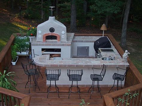 Outdoor Kitchen Pizza Oven Design Anyone A Wood Fired Pizza Oven 24hourcfire