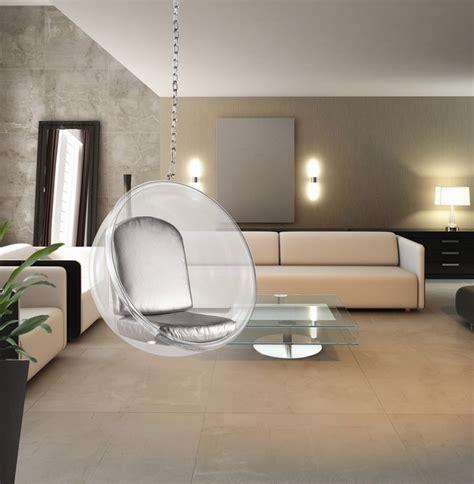 modern hanging chair eero aarnio style bubble hanging chair midcentury