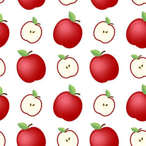 pattern apple background apple pattern clipart best