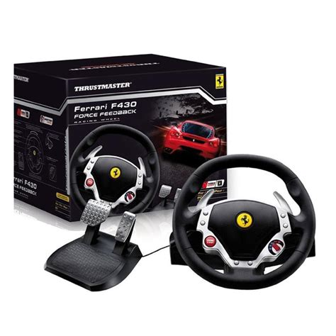 volante thrustmaster ps3 volante f430 ffb playstation 3 pc thrustmaster