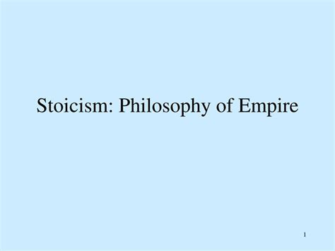 stoicism and the statehouse an philosophy serving a new idea books ppt stoicism philosophy of empire powerpoint