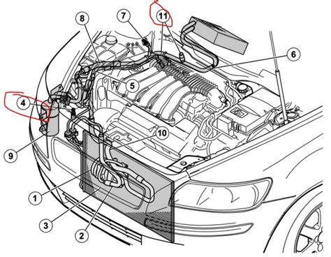 2000 volvo s80 engine diagram volvo s80 2 0 2008 auto images and specification within
