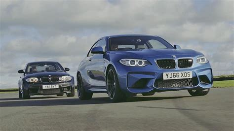 chris harris drives bmw m2 vs bmw 1m coupe top gear