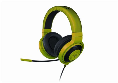 Headset Gaming Razer razer unveils kraken pro gaming headset and kraken gaming headphones custom pc review