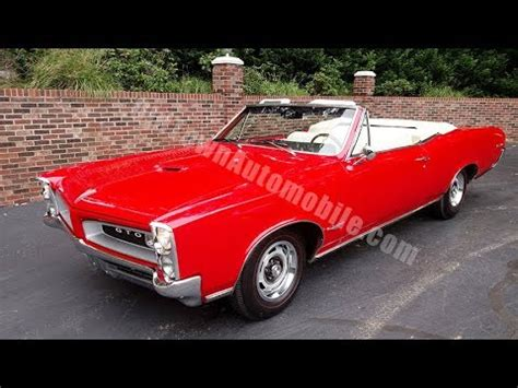 1966 pontiac lemans youtube 1966 pontiac lemans convertible for sale old town automobile in maryland youtube