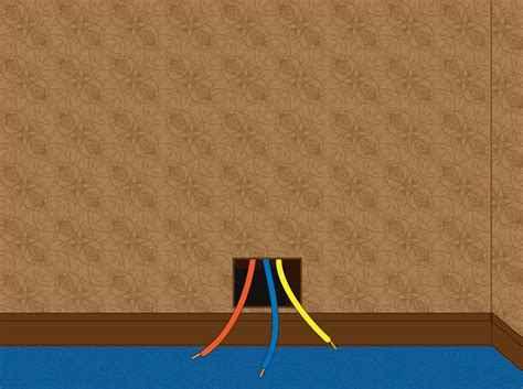 how to fish wires through walls 14 steps wikihow