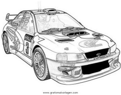 Rally Auto Zum Ausmalen by Subaru Rally 4 Gratis Malvorlage In Autos2