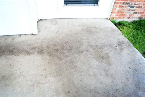 how to clean cement patio i should be mopping the floor diy miracle concrete patio