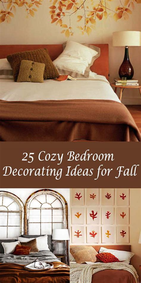 decorating your bedroom 25 insanely cozy ways to decorate your bedroom for fall