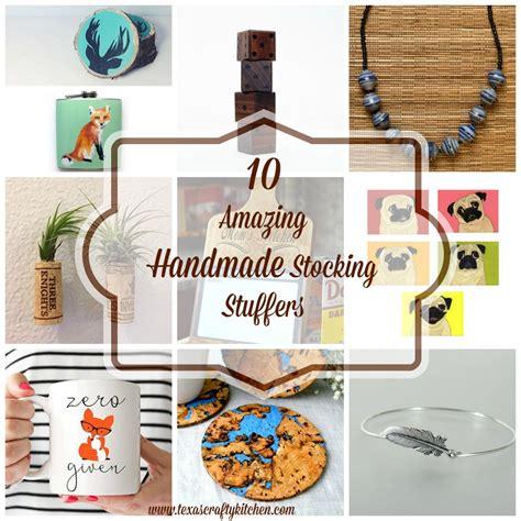 Handmade Stuffers - 10 amazing handmade stuffers
