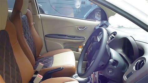 Sw Sarung Jok Seatwear Honda Mobilio modif sarung jok mobil paten honda brio tiga warna