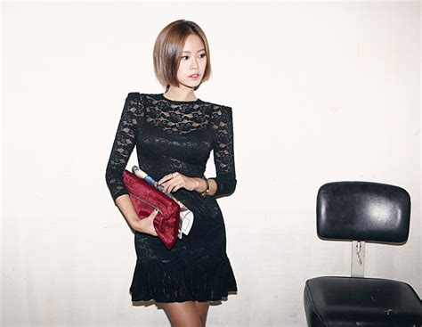 Mini Dress Yt Pakaian Wanita Mini Dress Hitam Burberry 07sa mini dress hitam brokat cantik toko baju wanita murah goldendragonshop