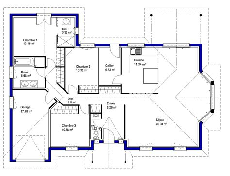 Christina Maisons Lara Plan De Maison 3d