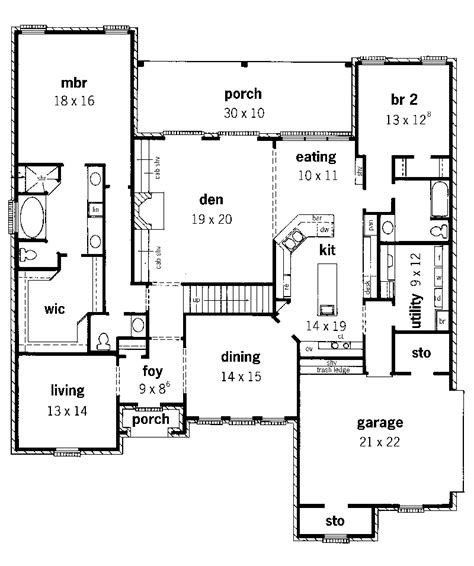 bendigo two story home plan 092d 0237 house plans and more