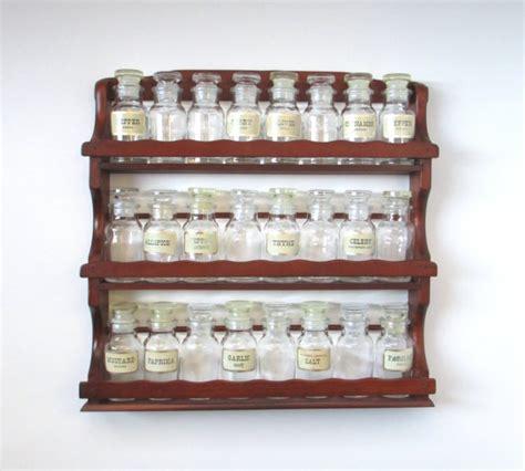 Spice Rack And Bottles 17 Best Images About Vintage Spice Racks On