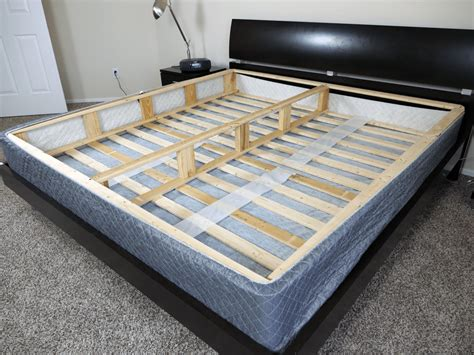 king bed box spring ghostbed boxspring foundation review sleepopolis