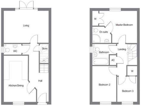 3 Bedroom House Plans Uk Simple 3 Bedroom House Plans Three Bedroomed House Plan