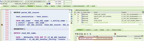 visitor pattern in net framework sap abap central cds view test double framework part 11