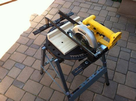 Harga Miter Saw Skill by Turn Your Circular Saw Into A Miter Saw Search Tools