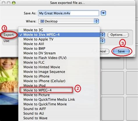 format export video how do i convert imovie videos to mp4 on mac
