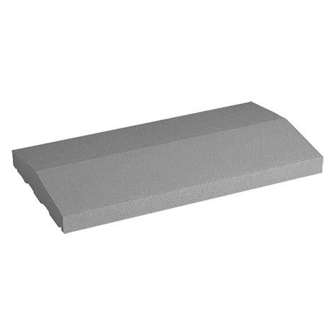fensterbank 10cm mauerabdeckung satteldach grau anthrazit 50 x 25 cm