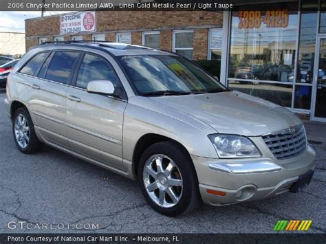 2006 Chrysler Pacifica Limited by Linen Gold Metallic Pearl 2006 Chrysler Pacifica Limited