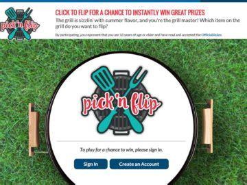 Kroger Giveaway Channel 5 - kroger summer to remember quot pick n flip instant win game