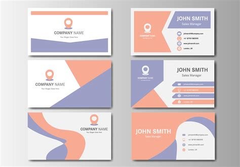 Name Card name card design 19451 free downloads