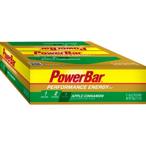Powerbar Shelf powerbar performance bars 12 pack backcountry