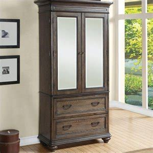 Armoires Cymax Stores Pemberly Row Armoire Craftsman Oak