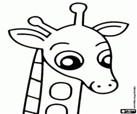 imagenes de jirafas faciles de dibujar ausmalbilder giraffen malvorlagen