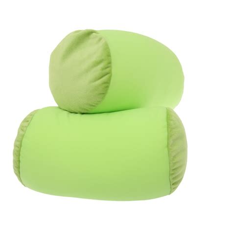Squishy Deluxe Microbead Pillow by Microbead Pillow Best Neck Roll Bolster Pillows