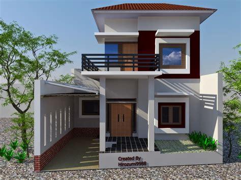 desain rumah kecil minimalis desain rumah minimalis 2 lantai 004 gambar rumah pinterest