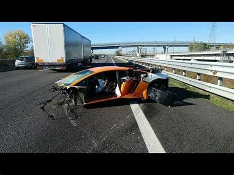 lamborghini crash lamborghini crash compilation youtube
