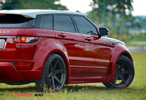 land rover evoque custom land rover range rover evoque custom wheels adv 1 6ts 22x9