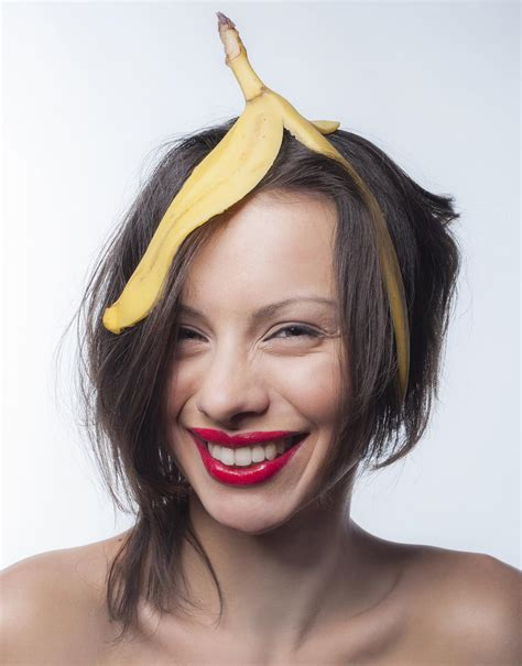 Banana Peel Hairstyle by Are Bananas For You We Reveal The