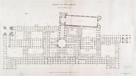 Houses Of Parliament Floor Plan by Floor Plan Of The Houses Parliament