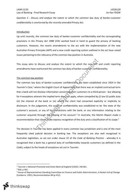 Banking Essay by Of Banking Research Essay Laws3133 Of Banking Thinkswap