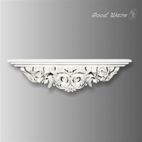 Decorative Bathroom Wall Shelves Baroque Decorative Wall Shelves For Bathroom Architectural Moldings