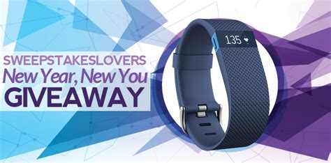 Sweepstakes Lovers - sweepstakes lovers new year new you giveaway