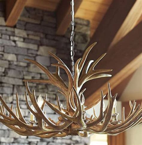 Real Antler Chandelier Real Antler Chandeliers Unique Lighting For Your Home