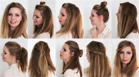 Brautfrisuren Für Lange Haare by Einfache Frisuren F 195 188 R Mittellange Haare 2017 Frisuren