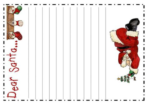 Santa S Toy Workshop Role Play Teaching Resources Christmas Display Eyfs Ks1 By Uk Teaching Letter To Santa Template Ks1