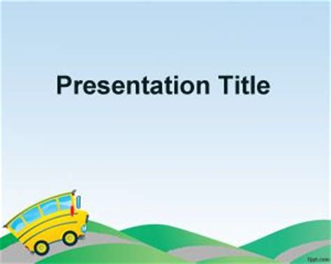 free preschool powerpoint templates free educating children powerpoint template