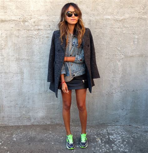 how to wear a black leather skirt and shopping ideas