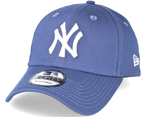 Ess Cap In Blue 5291928 new york yankees mlb league ess blue 9forty adjustable