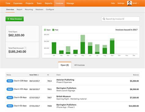 freelancer invoicing software comparison harvest invoice
